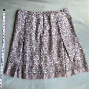 LOFT Skirts - LOFT Silk Pleated Skirt
